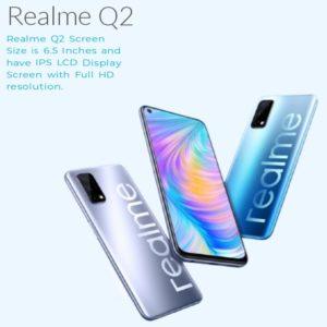 Realme Q2 Body & Display Specs