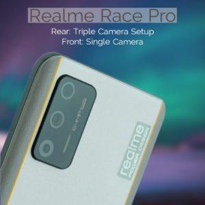 Realme Race Pro Camera specs