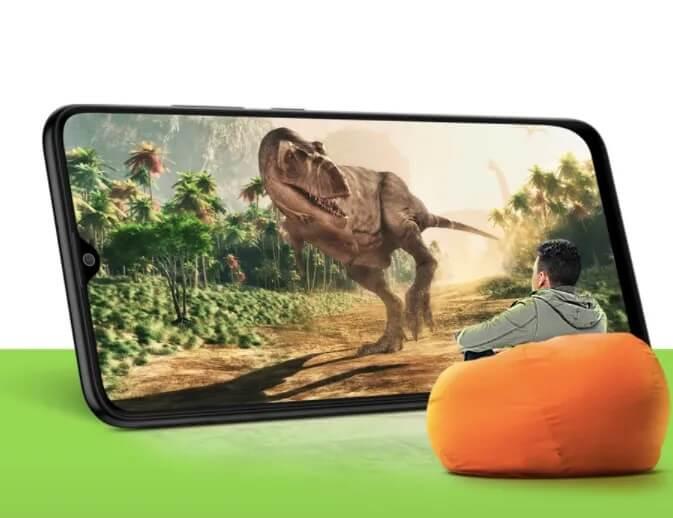 Samsung Galaxy M02s Display