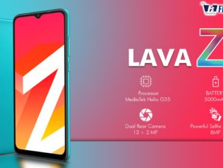 Lava Z2 Specifications