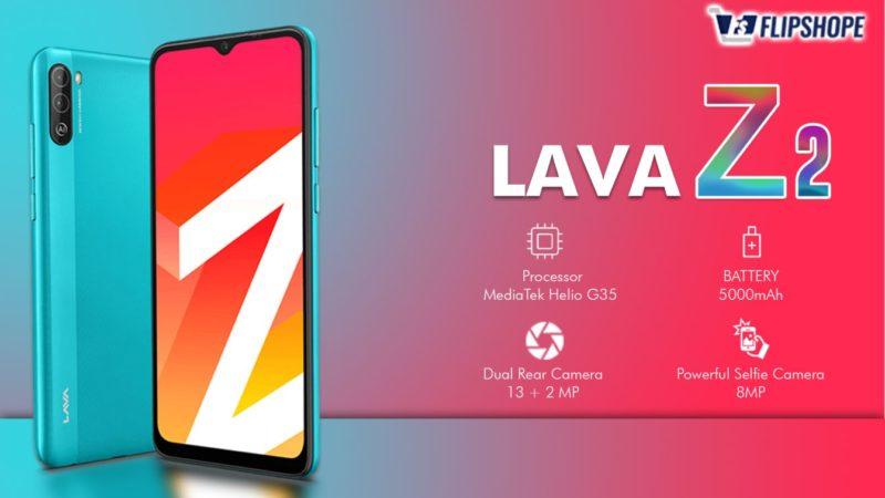 Lava Z2 Specifications
