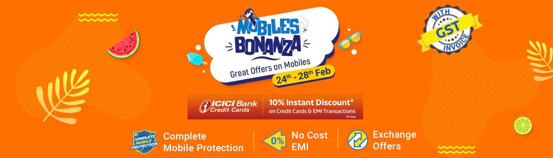 Flipkart Mobile Bonanza Sale February 2021