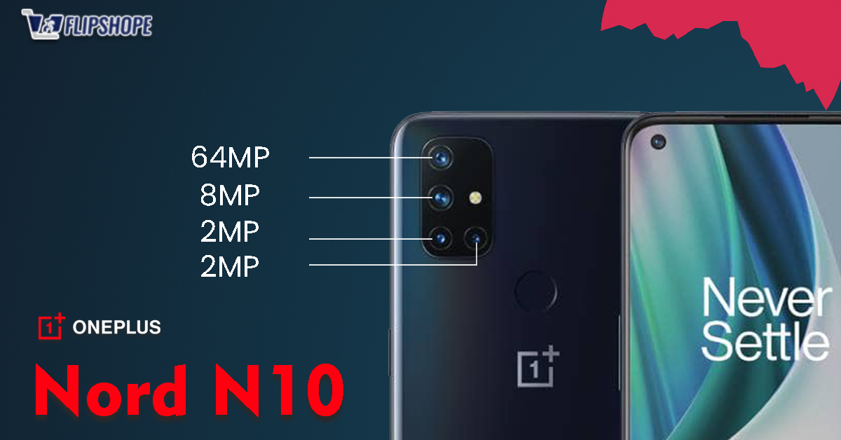 OnePlus Nord N10 5G Camera Specs