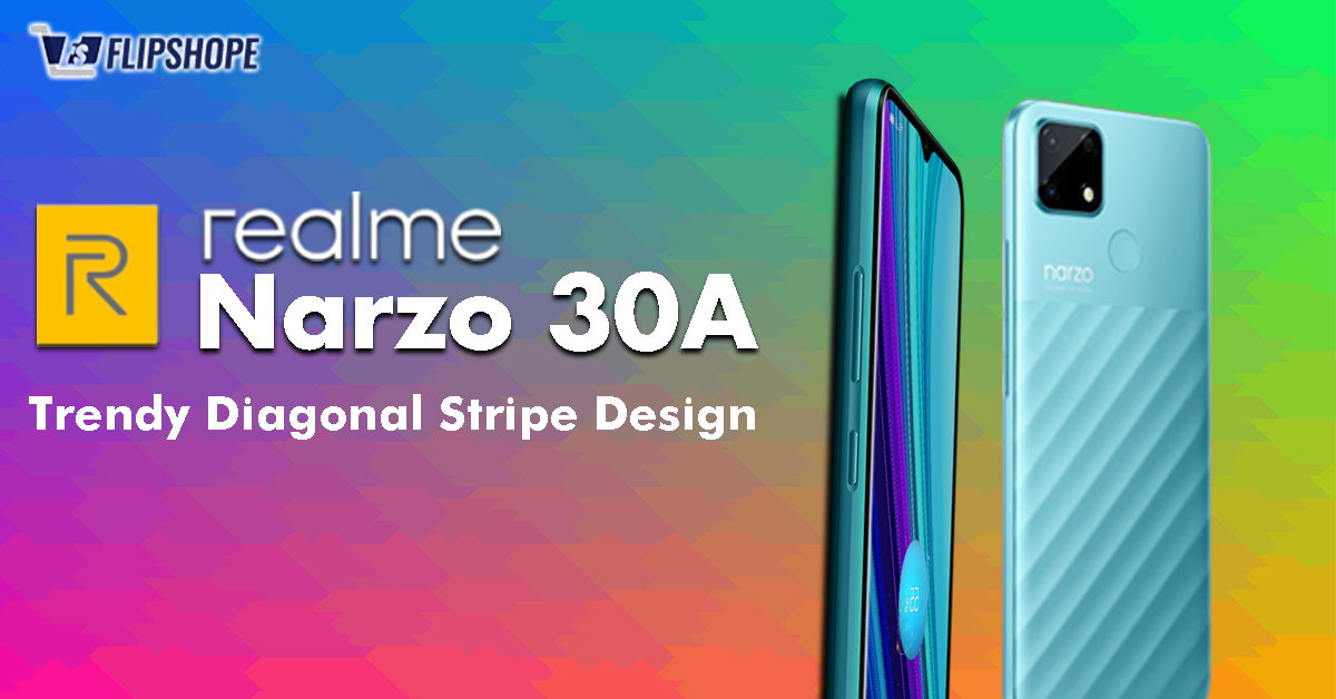 Realme Narzo 30A Body & Display Specs