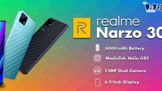 Realme Narzo 30A Specifications