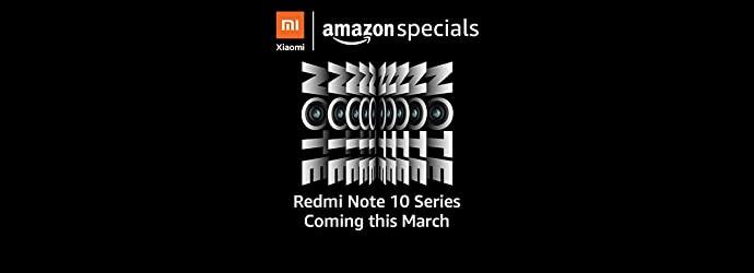Redmi Note 10 Amazon Teaser