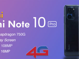 Redmi Note 10 Pro 4G Specifications