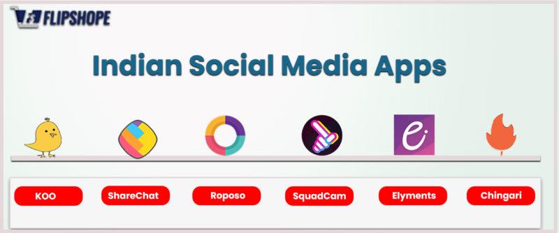 indian social media apps