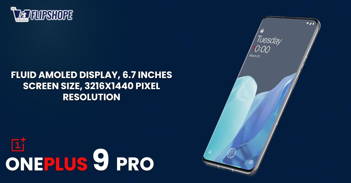 OnePlus 9 Pro Display & Body Specs