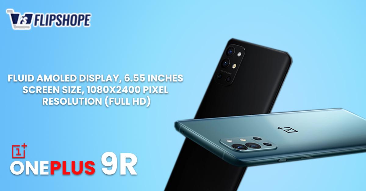 OnePlus 9R Body & Display Specs