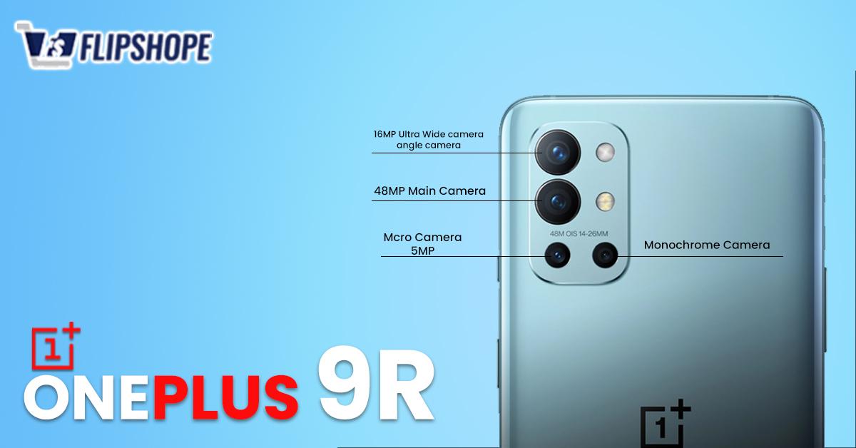 OnePlus 9R Camera Specs