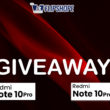 REDMI NOTE 10 PRO MAX GIVEAWAY