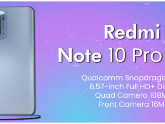 Redmi Note 10 Pro Max Specifications