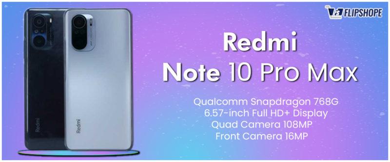 Redmi Note 10 Pro Max Specifications