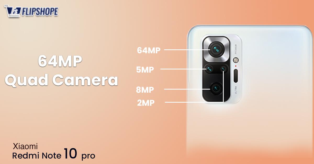 Redmi Note 10 Pro Specs of Camera