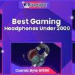 Best Gaming Headphones Under 2000