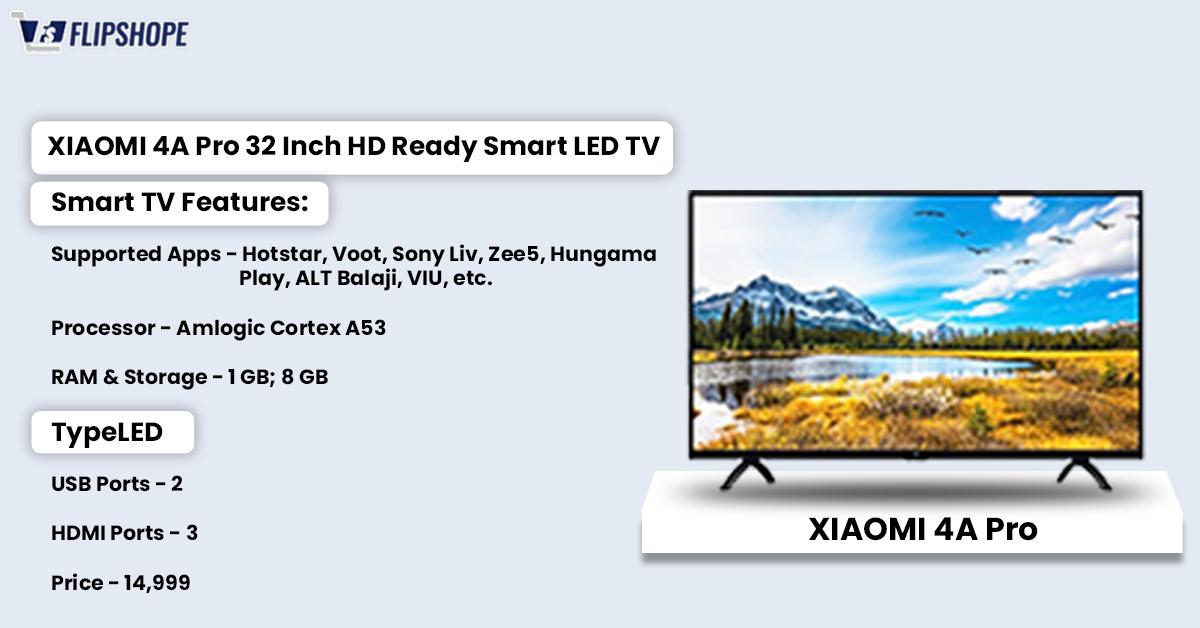 Best smart tv under 15000(Xiaomi tv)