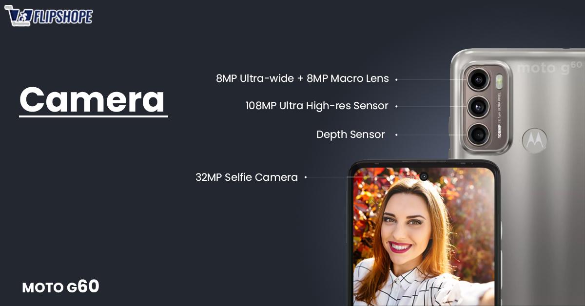 Moto G60 Specifications(Camera Specs)