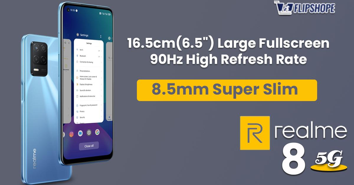 Realme 8 5G Specs(Display)