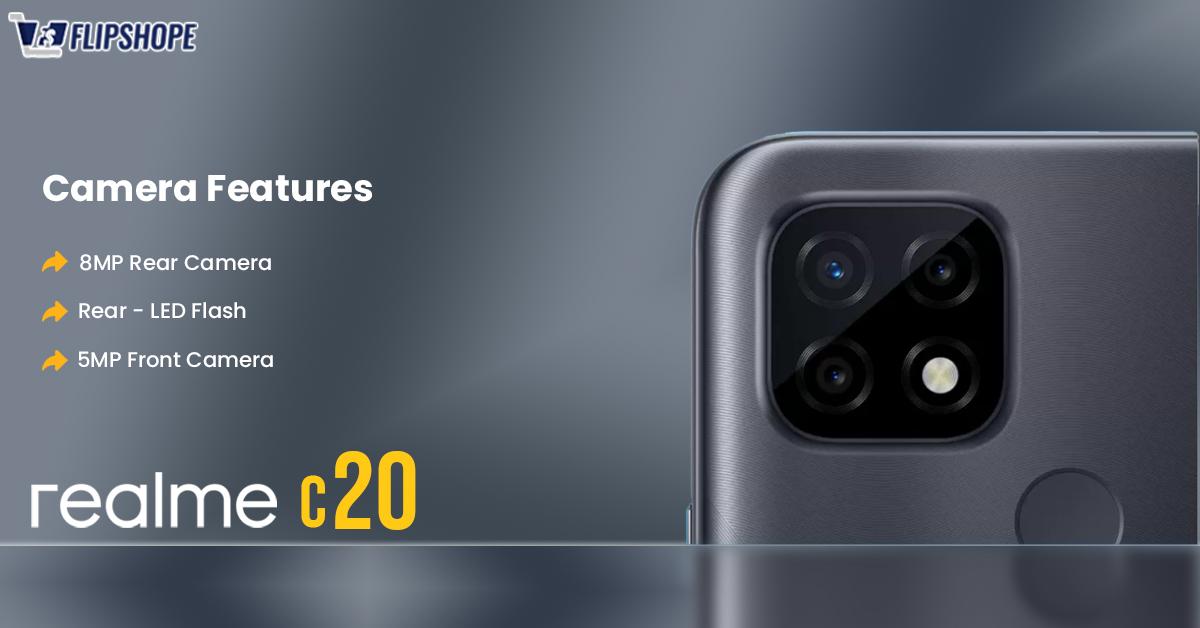 Realme c20 Specifications (Camera)