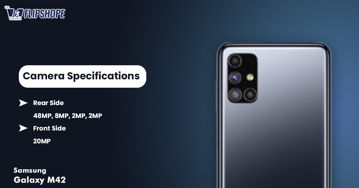 Samsung Galaxy M42 Camera Specs