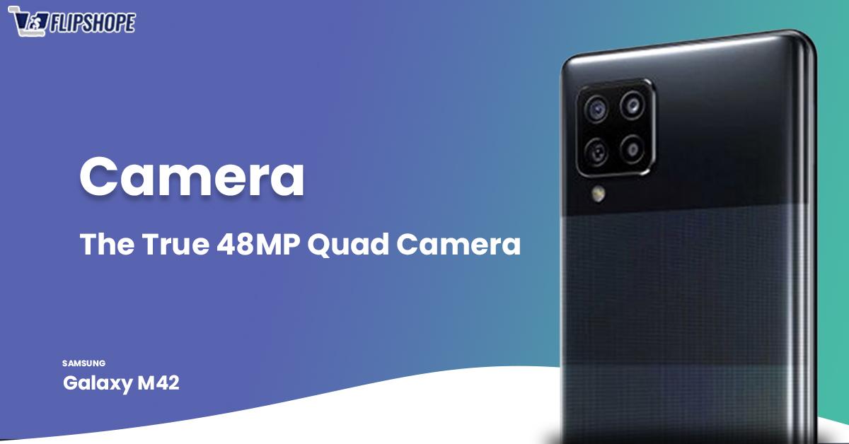 Samsung Galaxy M42 5g Specifications (Camera)