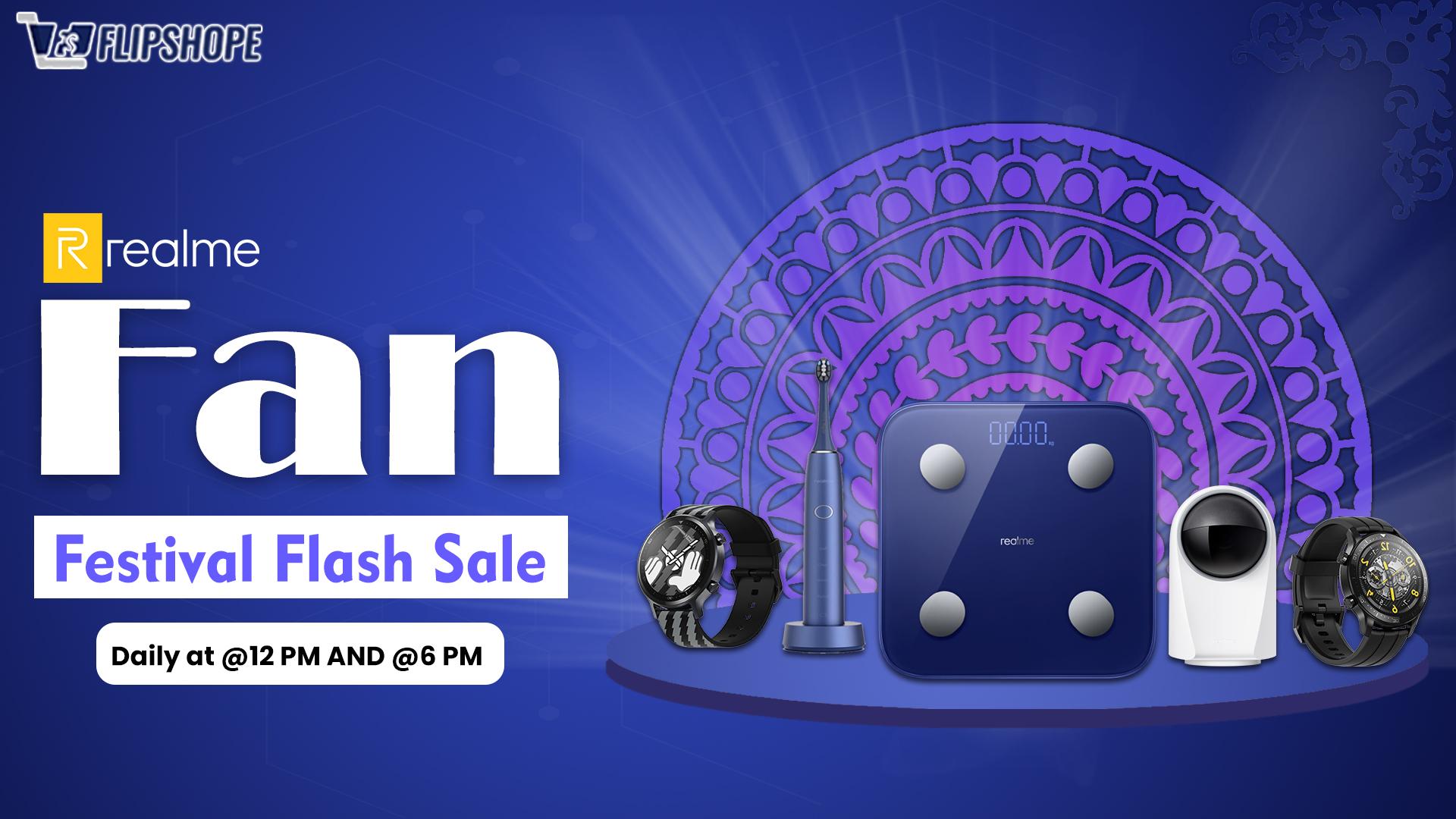 realme fan festival flash sale