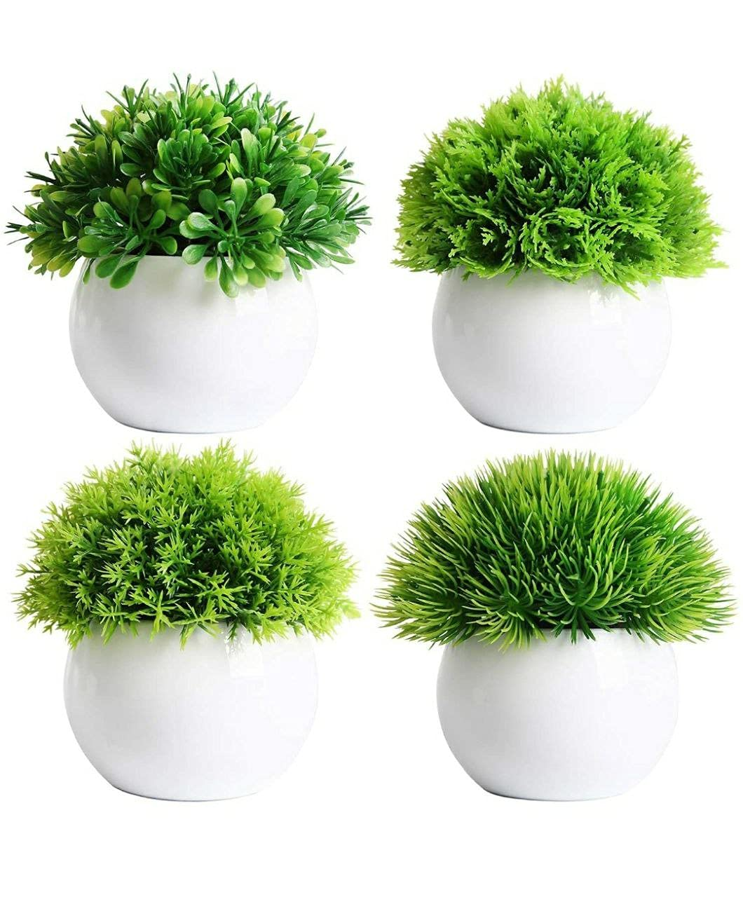 AJSN Artificial Plants with Pots