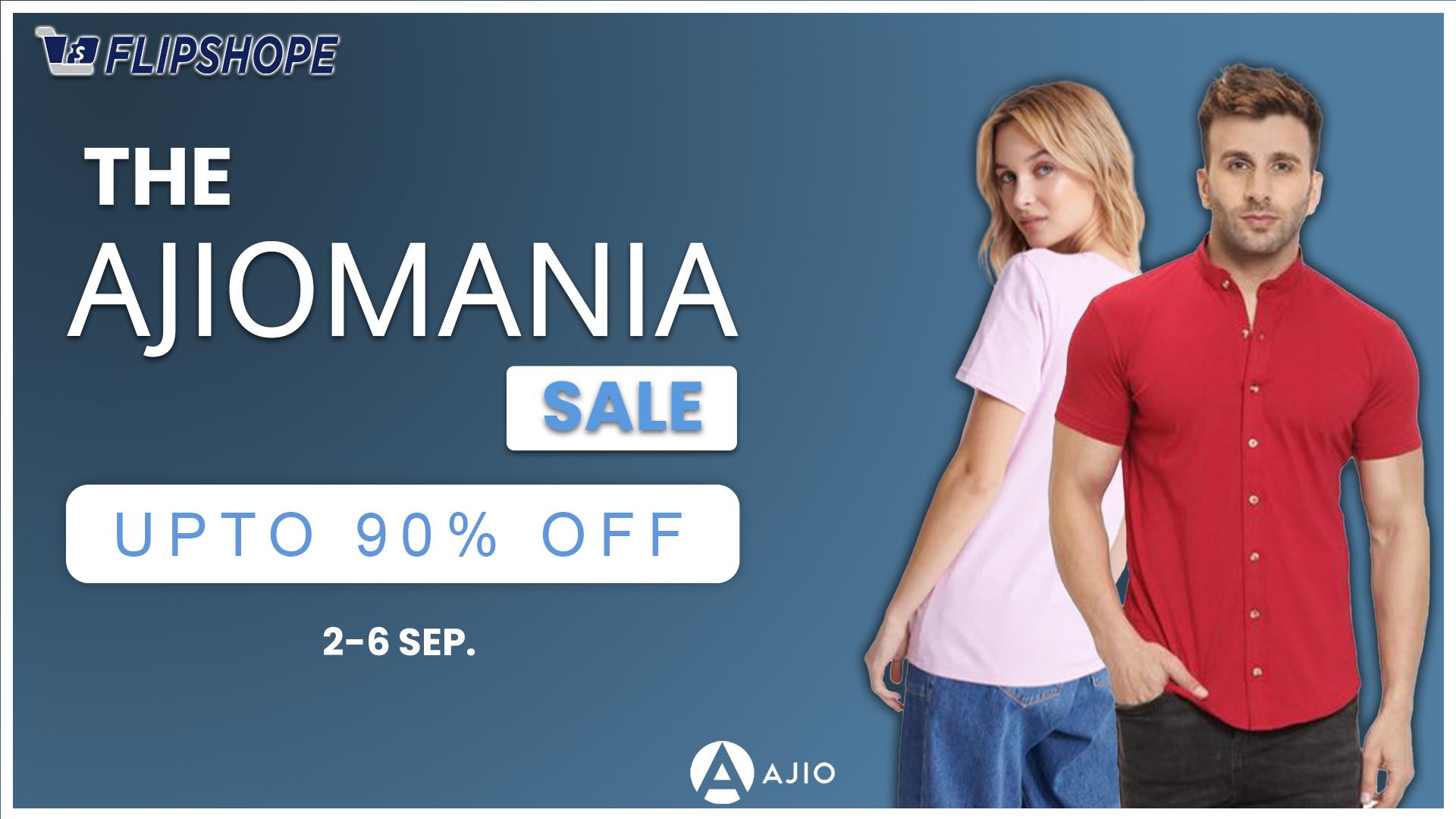 the ajiomania sale