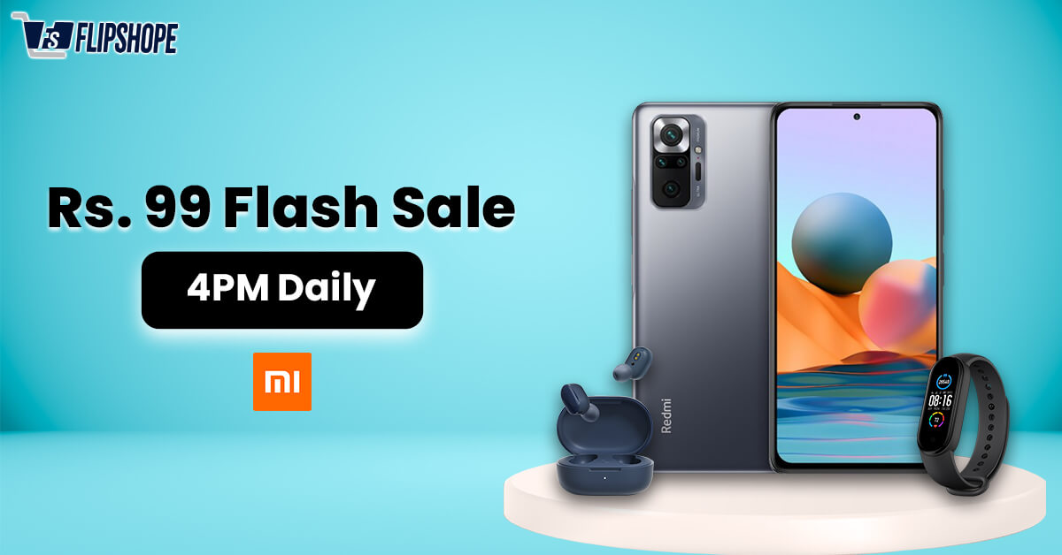 mi 99 rs flash sale