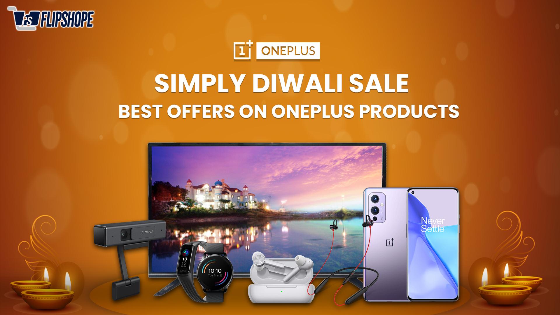 oneplus simply diwali sale