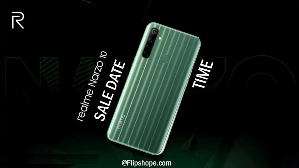 Realme Narzo 10 flash sale
