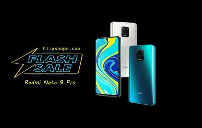 Redmi Note 9 Pro Flash Sale