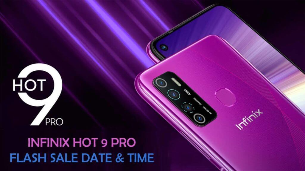 Infinix Hot 9 Pro Flash Sale Date & Time